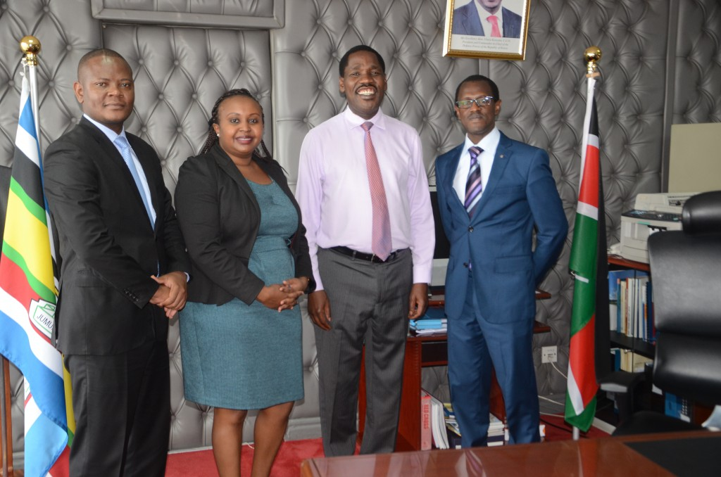 Mr. Christian Ateka, Ms. Winnie Cheserem (Principal State Counsel, MEAC), Hon. Peter G. Munya, MGH, Mr. Long'et Terer