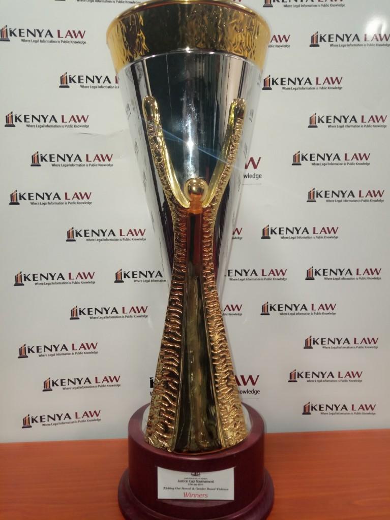 LSK Justice Cup trophy
